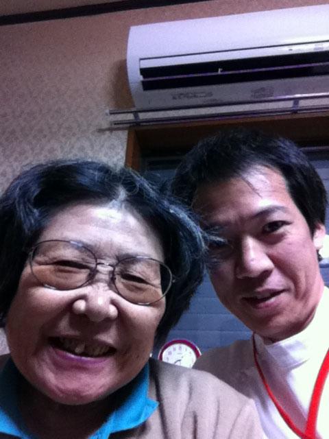 平尾紀久子様との写真
